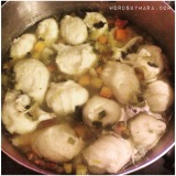 Low Fat Recipe – Chicken and Vegetable Dumpling Soup