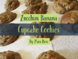 Dairy Free Zucchini CupcakeCookies