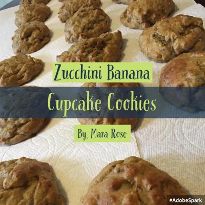 Zucchini-Banana-Cookies